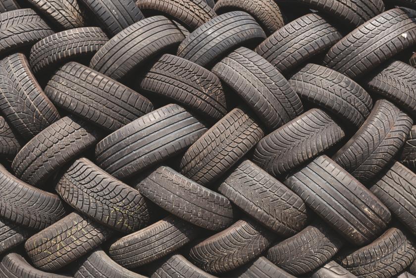 Cresce l'utilizzo di asfalti realizzati con pneumatici fuori uso