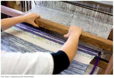 Con Tèssere i vecchi tessuti della tradizione acquistano nuova vita
