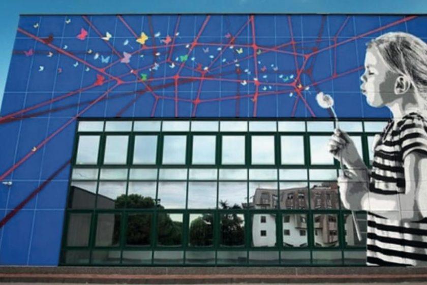 Lo smog si combatte anche con la street art