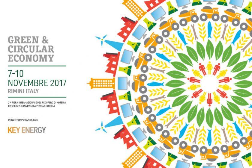 "La ""circular economy"" sempre più protagonista anche a Ecomondo 2017"