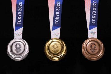 Le Medaglie Olimpiadi di Tokyo 2020 sono prodotte con cellulari riciclati