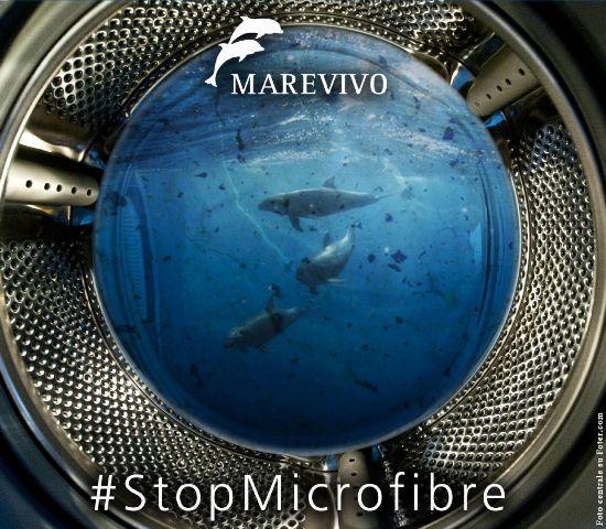 Marevivo lancia la campagna #Stopmicrofibre
