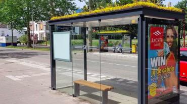 In Olanda la casa delle api è alla fermata del bus